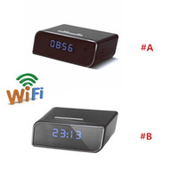 1080P WIFI Camera Super Alarm Clock Network Camcorder Mini C...