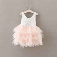 Everweekend Girls Tulle Candy Color Party Dress Lace Halter ...