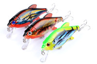 Hot lifelike Colorful PS Painted Rattlin Artificial bait 8cm...