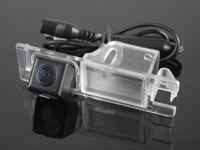 Câmera de visão traseira do carro para FIAT Multipla / Marea câmera reversa / CCD HD RCA NTST PAL / placa de licença OEM luz