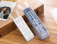 야간에 밤샘 백열 보관함 TV 리모컨 더스트 커버 보호용 홀더 오거나이저 홈 제품 액세서리 용품 소모품