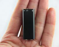 En küçük 8 GB Dijital Ses Kaydedici destek 13 Saat ses kayıt MP3 Müzik çalar ile 8 GB Mini USB Disk ses kaydedici