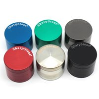 SharpStone Herb Grinders Smoking Metal Grinder 4 Layer 40mm ...