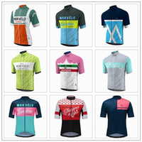 0ca496dc6 2017 Maillot Ciclismo MORVELO Team Cycling Jersey QuickDry Cycling Clothing  MOLTENI Bike Riding Jersey Tops Size XS-4XL