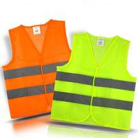 높은 가시성 반사 안전 조끼 환경 위생 코트