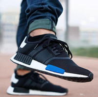 With Box 2017 Cheap Wholesale R1 New NMD Runner PK Primeknit...