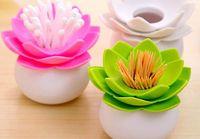 All'ingrosso- Nuovo Lotus Toothpicks Holder 1pc