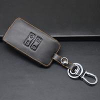 De haute qualité sac en cuir de porte-clés de porte-clés de voiture en cuir véritable pour Renault Kadjar 4 boutons