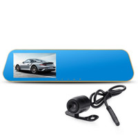 Full HD 1080P Auto DVR 140 Grad 4,3 Zoll G-Sensor Parküberwachung Bewegungserkennung One Key Lock Cycle Recording Unterstützung Audio-Aufnahme