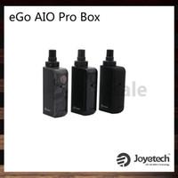 Joyetech eGo AIO ProBox Kit TFTA نظام تعبئة أعلى وتدفق هواء أعلى نظام Shift Gears 2ml البخاخة بطارية بقدرة 2100 مللي أمبير في الساعة AIO
