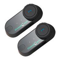 Livraison gratuite 800M Interphone Casque Interphone Bluetooth Moto Moto Casque Vente Chaude!