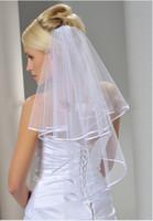 2017 New Stock Высококачественная гибкая труба паруса замуж замуж за мошенничеством в приложении DE BLANCO DE MARAINE DALK DE MARAINE PAS CHER паруса вуаль KL698