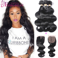 Brazilian Body Wave Hair Bundles With Closure 3Bundles Body ...