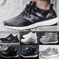 2017 Latest Ultra Boost 2. 0 Triple Black Running Shoes Woman...