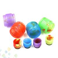 Resina epóxi Kit de Resina com Tubo de Resina de Substituição e Drip Tip Set para TFV12 Príncipe TFV8 Grande Bebê V2 Resa DHL Livre