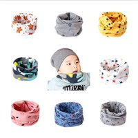 Multicolor kids multifunctional cotton neck warmer cute prin...