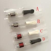 Bud dex 0.6 ml colore rosso vaporizzatore olio denso Co2 olio o penna vape dex atomizzatore cartuccia usa e getta vape serbatoio CE3 atomizzatore