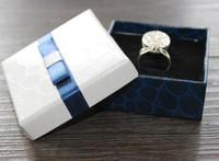 Wyświetlacz mody Opakowania Prezent Bow Skrzynki Biżuteria Box Wisiorek Box Kolczyki Pudełko Broszki Corsages Opakowanie