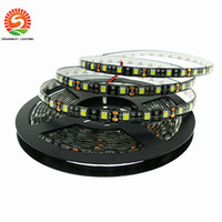 Black PCB LED Strip 5050 DC12V IP65 Waterproof 60LED m 5m lo...