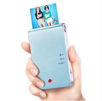 PD239 Portátil Mini Bolso Impressora Fotográfica Suporte Sem Fio Bluetooth Android iOS Smartphone Impressão A Cores Azul / Rosa / Ouro / Amarelo