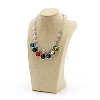 Manequim mostrar colar de jóias mostrar colar Titular Jóias Bust Big Size Pendant exibição Bust