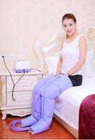 Elettrico pneumatico pressione dell'aria Piede / Braccio 360 gradi per massaggi relax della coscia pressoterapia massaggio peso Perdere Compressione Aria Wrap CE