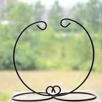 زخرفة عرض موقف ، الحديد شنقا حامل حامل رف لتعليق الزجاج غلوب الهواء مصنع تررم ، الساحرة الكرة ، و الزفاف ديكور المنزل