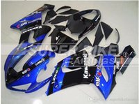 3 omaggi New Hot ABS Kit bici moto carenatura 100% per Kawasaki Ninja ZX-6R 2005 2006 6r 636 05 06 ZX636 Cool black blue
