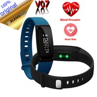 2017 Newest V07 Blood Pressure Heart Rate Smartband Sports F...