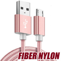 Good Quality Micro usb Fabric Braided Nylon Sync Cloth Woven...