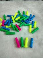 Colore bocchino di plastica bong in vetro accessori, Fumo di vetro colorato mini multi-colori Hand Pipes Best Spoon glas