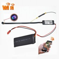 Hot Sale WiFi Remote P2P Module Caméra Webcam Webcam 06S HD 1080P Mini caméra cachée 170 Degree Night Version Caméra module DIY