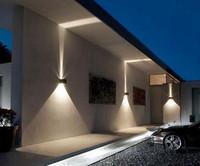 Acquista lampada da parete esterni a led w giù ip impermeabile
