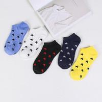 calze alla caviglia in cotone Poliestere stella per uomo uomo maschio primavera autunno 24-26,5 cm dimensione libera