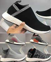 Best quality black NMD _CS2 PK W black Running Sneakers Fash...