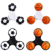 Newest Football Basketball Handspinner Fingertips Spiral Gyr...