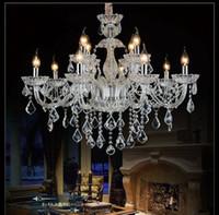Semplice moderno moderno lampadario di lusso lampadario Pendnat lampada di cristallo camera da letto soggiorno sala da pranzo lobby