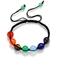 Hot Sale Fashion Energy Yoga Reiki 7 Chakra Bracelet Natural...