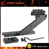 FIRE WOLF Универсальный тактический пистолет для крепления на прицел Weaver Picatinny Rail Пистолет для добавления прицела для фонарика Лазерный фонарик