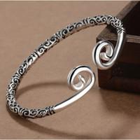 2017 Handmade Top Quality Pagan Viking Gold Hoop Bracciali Bracciali Braccialetti per uomo e donna Bracciale da polsini Regali