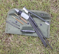 M16 Rifle Gun Cleaning Kit Set Cleaning Rod Nylon Brush Clea...