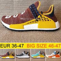 Big size Cheap New Hu NMD HUMAN RACE Trail boost man Running...