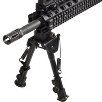 6- 9 Inches Tactical Bipod Butterfly Tripod 6 Levels Bipod A...