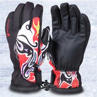 Men Skiing Gloves Winter Sports Women Waterproof Windproof C...