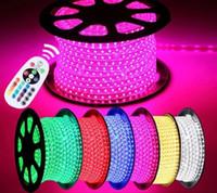 Trova simile 100m 110 V 220V strisce a LED SMD 5050 LED Rope Light IP67 Flex LED Striscia luci per esterni String String Disco Bar Pub Natale