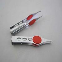 Pinza de cejas LED Mini Light Light Remoción de pestañas Pinzas Clip Maquillaje herramienta de belleza