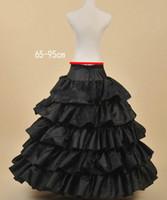 웨딩 드레스 볼 가운에 대한 검은 Petticoats Crinoline enaguas novia jupon marariage 언더 셔츠 saiote de noiva 후프 스커트