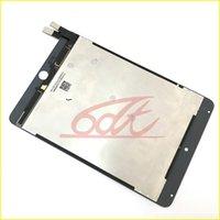 شاشة عرض LCD لباد ميني 4 A1538 A1550 7.9 بوصة اللوحي شاشات الكمبيوتر مع Smartcover Flex ملحومة قطع غيار No Dead Pixels Black