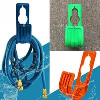 Держатель для шланга для воды Декоративный держатель для садового шланга Пластиковый шланг для труб Катушка Вешалка для настенного монтажа для полива