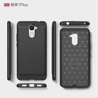 Koolstofvezel Case voor Huawei Y3 Y5 Y6 2017 Siliconen Achterkant voor Huawei Y7 Prime Geniet van 6s 7 Plus Texture Soft TPU